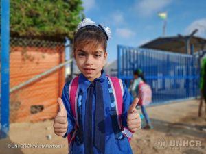 No mês das crianças, agência da ONU pede ajuda para as refugiadas 1
