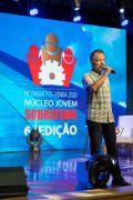 Apresentador Vagner Barbosa anunciou os homenageados do Destaque Pós-Venda Sobratema 2020 durante o Tendências no Mercado da Construção