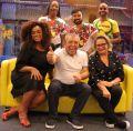 João Jorge, Mauro Sousa, Jorginho Rodrigues, Paula Lima, Mauricio de Sousa e Fafy Siqueira