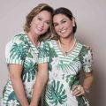 Mãe e filha: Dairdes e Lorena Darrot