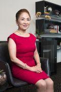 Chieko Aoki, empresária nipo-brasileira, fundadora e presidente da rede Blue Tree Hotels