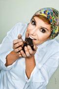 Ana Ruzzarin, chocolatier pela Castelli Escola de Chocolataria e expertise em chocolataria pela Chocolate Academy