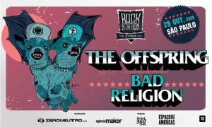 The Offspring e Bad Religion farão noite de punk rock no Espaço das Américas