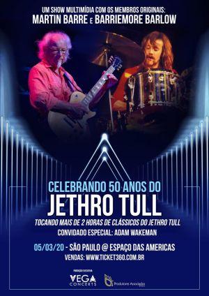 Membros do Jethro Tull fazem apresentação especial no Espaço das Américas