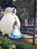 Na Estação Primavera, a personagem Alice estará interagindo e divertindo os visitantes