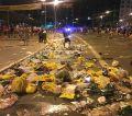Em São Paulo foram 957,9 toneladas de lixo, sendo apenas 11,8 toneladas de resíduos recicláveis.