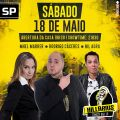 No dia 18, o Super Show de Stand Up Comedy contará com a presença de Mhel Marrer, Rodrigo Cáceres e Nil Agra