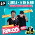 Na quinta-feira, 16, o Hillarius volta à cena com os já conhecidos nomes do Pânico, Igor Guimarães e Rogério Morgado apresentando o show
