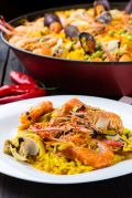 Paella, famoso prato espanhol